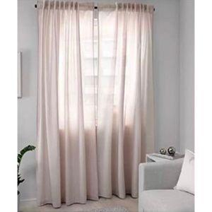 IKEA Hannalill Light Pink Curtains